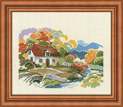 click here to view larger image of Autumn Colors (counted cross stitch kit)