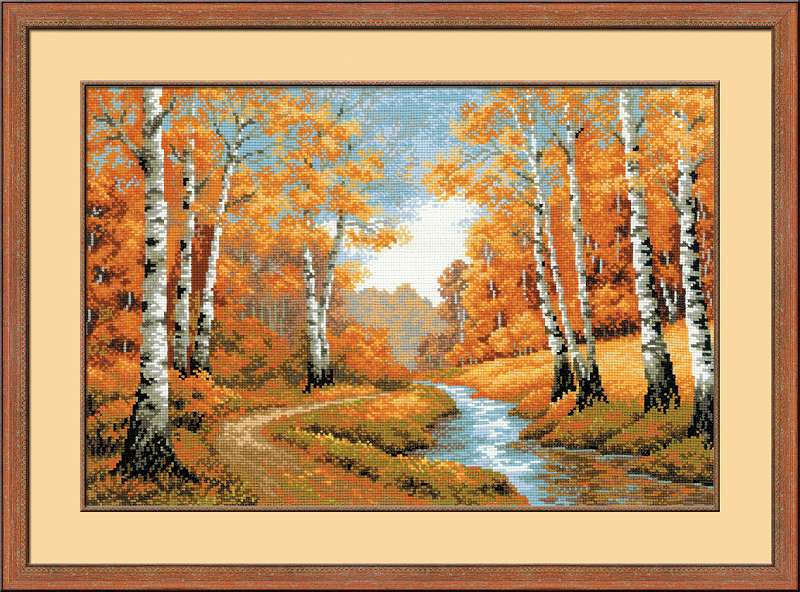click here to view larger image of Golden Grove, The (counted cross stitch kit)