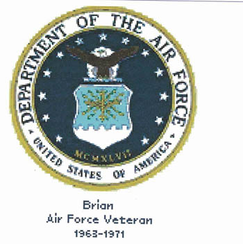 click here to view larger image of Air Force Seal (chart)