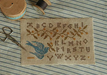 click here to view larger image of Bluebird Sampler (chart)