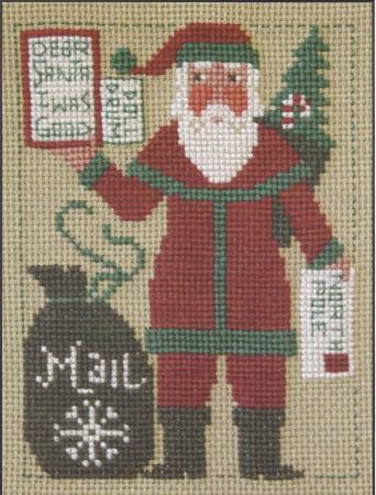 click here to view larger image of 2012 Prairie Schooler Santa (chart)