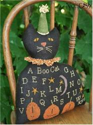click here to view larger image of Black Cat Sampler (chart)