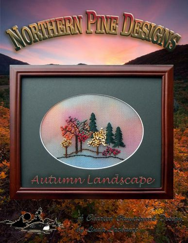 click here to view larger image of Autumn Landscape- without canvas (chart)