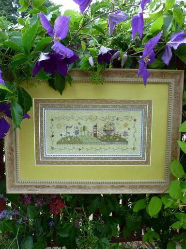 click here to view larger image of Birdsong (counted cross stitch kit)