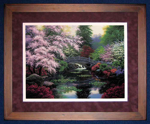 click here to view larger image of Bridge of Tranquility (counted cross stitch kit)