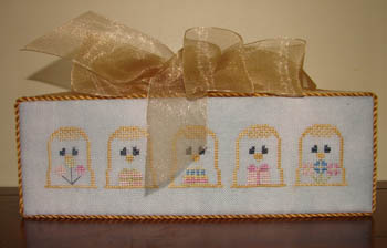 click here to view larger image of Birthday Party (Laura's Thimbles) (chart)