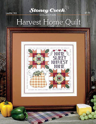 click here to view larger image of Harvest Home Quilt (chart)