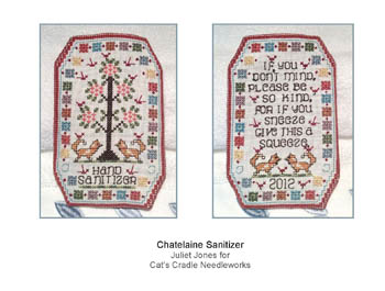 click here to view larger image of Chatelaine Sanitizer (chart)