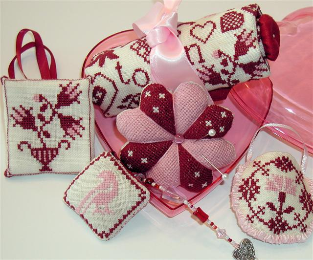 click here to view larger image of Simple Gifts - Hearts  (chart)