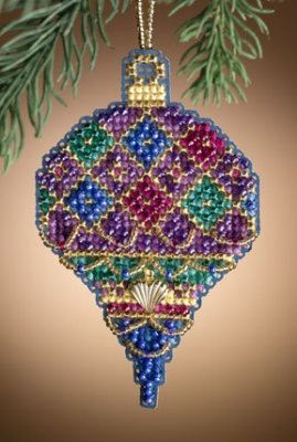 click here to view larger image of Diamond Holiday (2011)  (counted cross stitch kit)