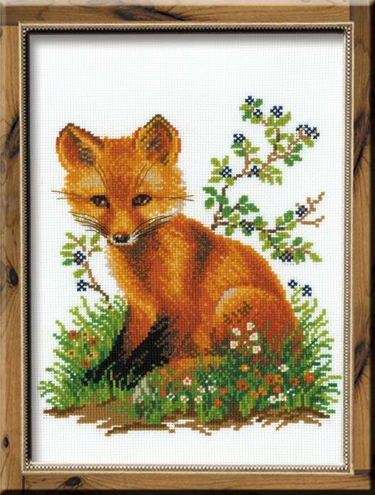 click here to view larger image of Chanterelle (counted cross stitch kit)