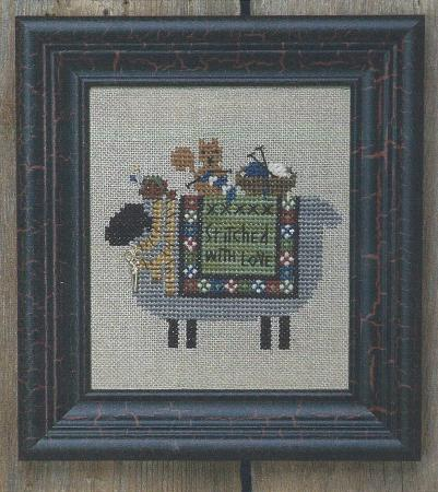 click here to view larger image of Stitching Sheep (counted cross stitch kit)