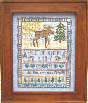 click here to view larger image of Moose Sampler (chart)