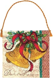 click here to view larger image of Petite Bells Ornament (counted cross stitch kit)
