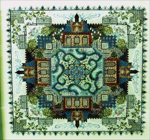 click here to view larger image of Secret Victorian Garden (chart)