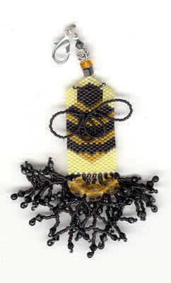 click here to view larger image of The Buzzzzz Fob (bead kit)