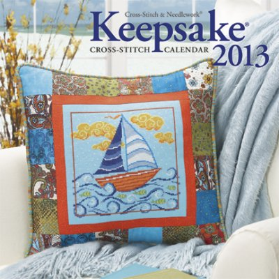 click here to view larger image of Cross Stitch and Needlework Keepake Calendar 2013 (chart)