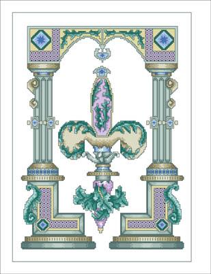 click here to view larger image of Renaissance Fleur D'Lis (chart)
