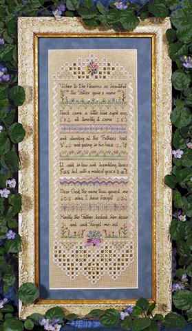 click here to view larger image of Forget-me-not Sampler Accessory Pack (chart)