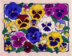 click here to view larger image of Pansies (chart)