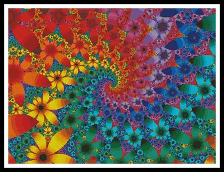 click here to view larger image of Fractal Flowers 10182 (chart)