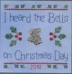 click here to view larger image of Christmas Day (with overdyed floss and charm) (chart)