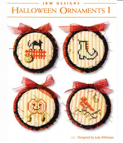 click here to view larger image of Halloween Ornaments I (chart)