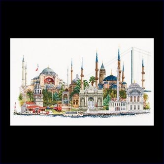 click here to view larger image of Istanbul  - Aida (counted cross stitch kit)