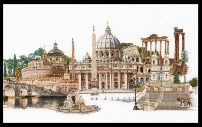 click here to view larger image of Rome (on Aida) (counted cross stitch kit)