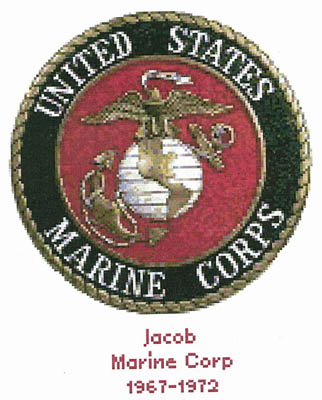click here to view larger image of U. S. Marine Corps Emblem - Kit (counted cross stitch kit)