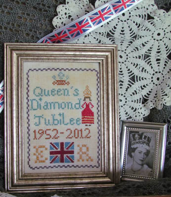 click here to view larger image of Queen's Diamond Jubilee Sampler (chart)