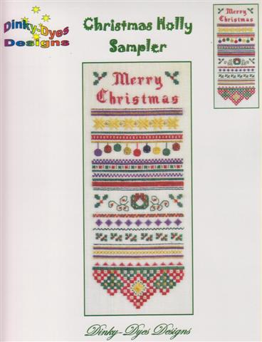 click here to view larger image of Christmas Holly Sampler (chart)