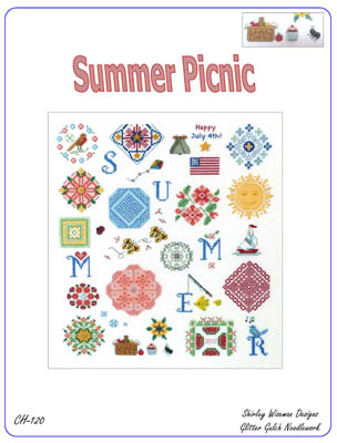 click here to view larger image of Summer Picnic (chart)