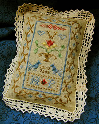 click here to view larger image of Petite Wedding Sampler (chart)