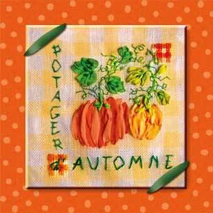 click here to view larger image of Potager d'Automne/Autumn Vegetable Garden (le Jardin d'Emile) (chart)