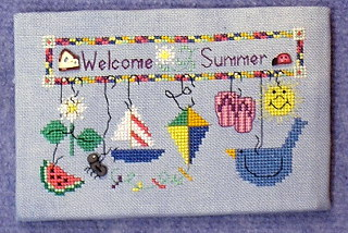 click here to view larger image of Welcome Summer (chart)