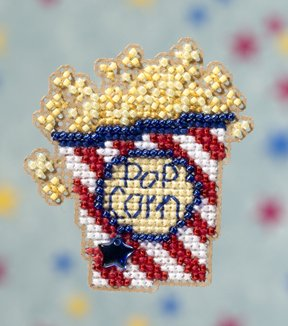 click here to view larger image of Pop Corn (2009)  (counted cross stitch kit)
