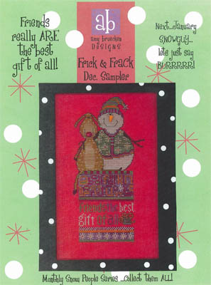 click here to view larger image of Frick and Frack - December Sampler (chart)