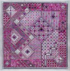 click here to view larger image of Amethyst Dreams - Impressionist Collection (chart)