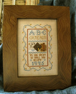 click here to view larger image of Petite Graduation Sampler (chart)