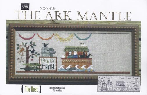 click here to view larger image of Ark Mantle - The Boat (counted cross stitch kit)