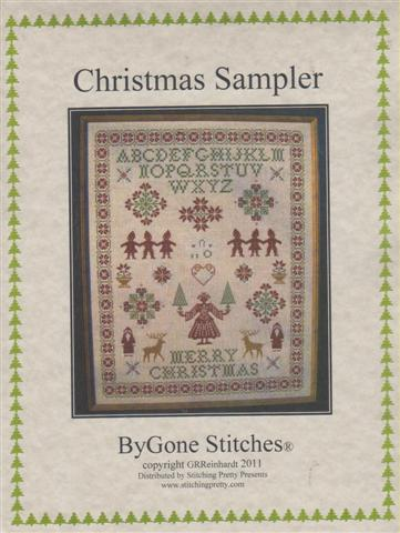 click here to view larger image of Christmas Sampler (chart (special))