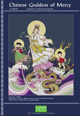 click here to view larger image of Chinese Goddess Of Mercy (chart)