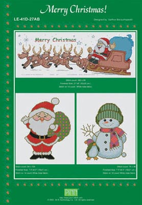 click here to view larger image of Merry Christmas! (chart)