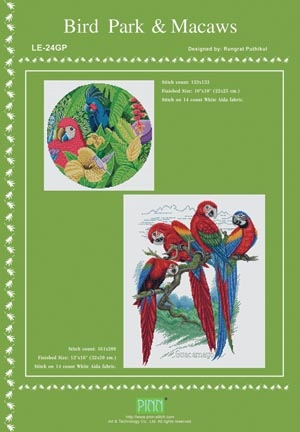 click here to view larger image of Bird Park & Macaws (chart)