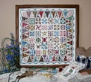 click here to view larger image of Quilt Sampler VI - Jane Stickley Civil War Blocks (chart)