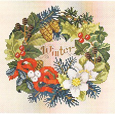 click here to view larger image of Winter Wreath (chart)