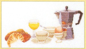 click here to view larger image of Brunch Anyone (counted cross stitch kit)