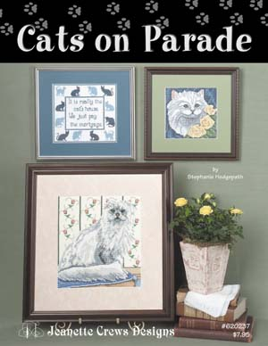 click here to view larger image of Cats On Parade  (chart)