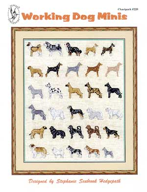 click here to view larger image of Working Dogs Minis (chart)